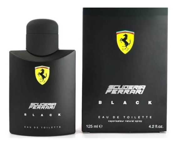 Scuderia Ferrari Black Edt 125ml