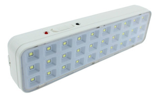 Lampara Emergencia Recargable 30 Led Portatil 3w Luz Blanca