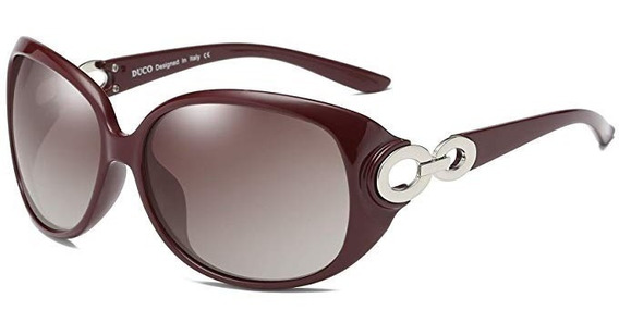 Duco Gafas De Sol Polarizadas De Gran Tamaño Para Mujer
