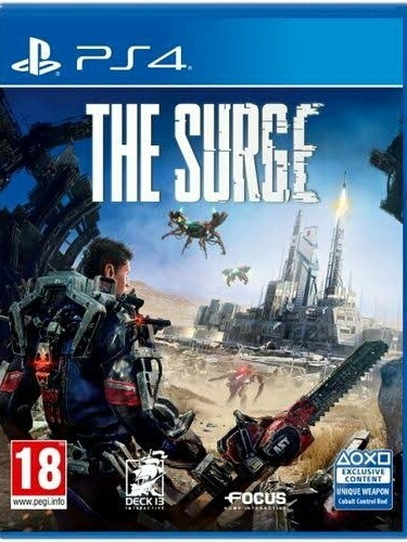 Jogo The Surge Ps4 Playstation 4 Mídia Física Lacrado