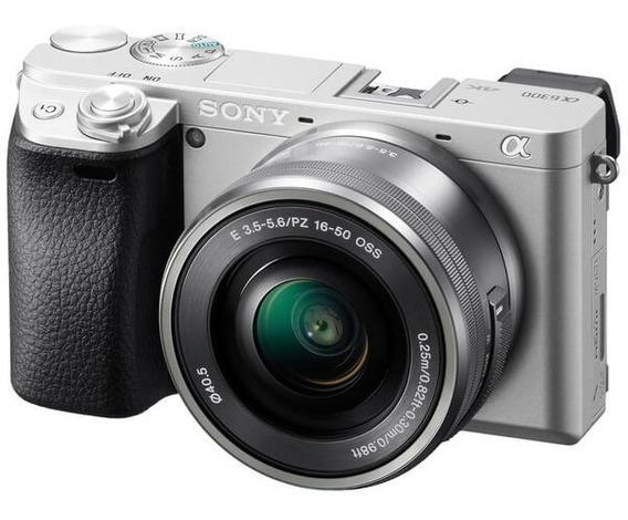 Câmera Sony Alpha A6300 Kit Com Lente 16-50mm