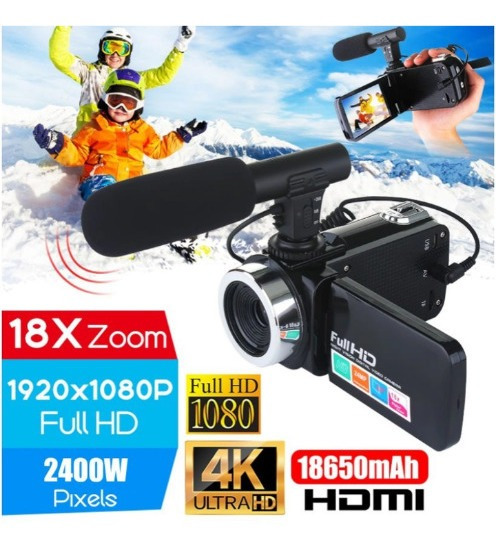 Professional 4k Hd Camcorder Video Camera Night Vision 3.0 P