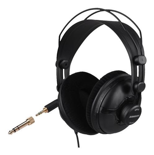 Cuotas Auricular Cerrado De Estudio Pro 50mm Samson Sr950