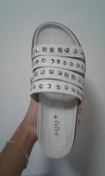 Zapatos Con Plataforma Y Tachas - Talle 37