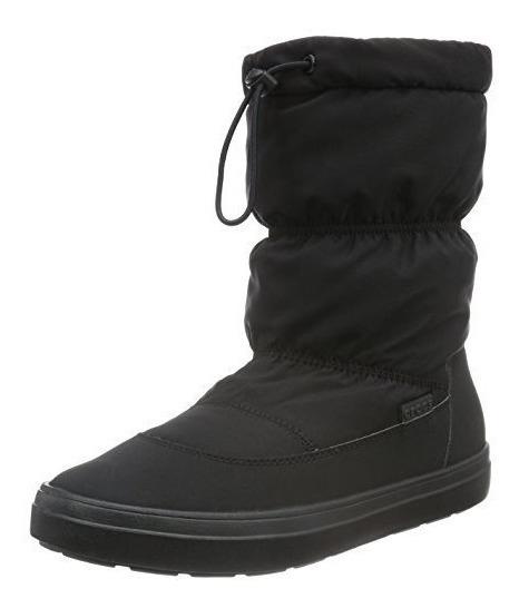 Botas Crocs Longepoint Pullon Boot W Mujer Ng 203422001