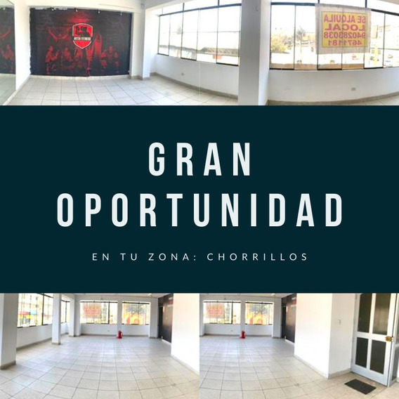 Alquiler Local Comercial Chorrillos