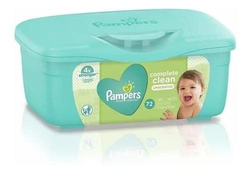 Imagen 1 de 1 de Pampers Toallitas Baby Wipes Sin Olor 72