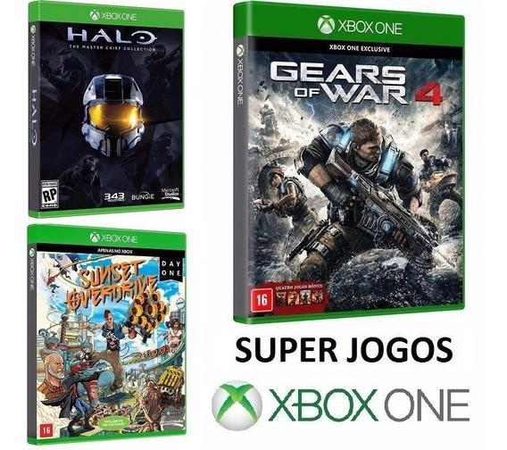 Kit 10 Jogos P/ Xbox One - Midia Fisica Original E Lacrado