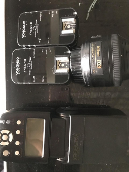 Combo Nikon ( Leia A Descrição)