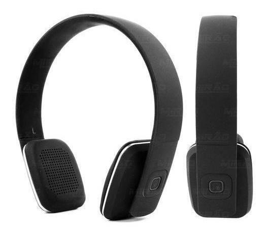 Headphone Bluetooth Hbt-500 Preto 10m 6h Duração C Microfone