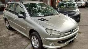 Peugeot 206sw 1.6 2008 Anticipo 75000 Y Cuotas Fijas