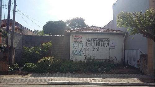 Terreno Comercial Para Locação, Prosperidade, São Caetano Do Sul - Te0364. - Te0364