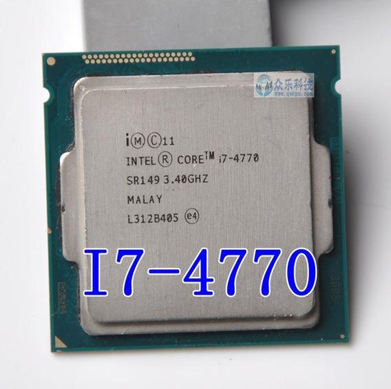 Processador Lga 1150 Core I7 4770 3,40 4a Ger. Frete Gratis