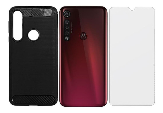 Celular Motorola Moto G8 Plus 64gb 3 Câm + Capa + Película