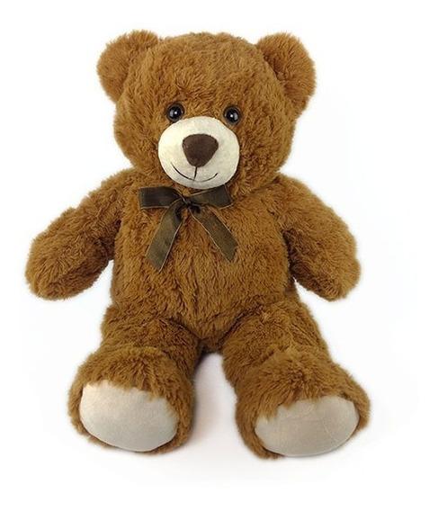 Urso De Pelúcia 45cm Marrom