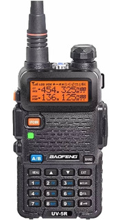 Rádio Ht Digital Policia Dual Band Baofeng 128 Canais
