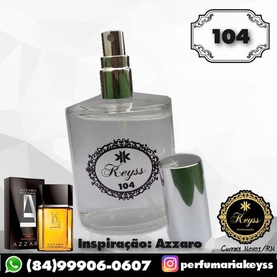 Perfume Keyss Nº 104 [azzaro] 100ml Masculino