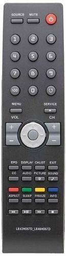 Controle Remoto Tv Lcd Aoc 32w931 Lc32w053 Le42h057d Lc42h05
