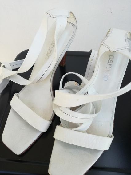 Sandalias Paruolo Blancas