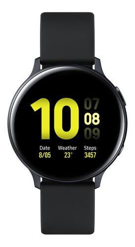"Samsung Galaxy Watch Active2 (Bluetooth) 1.4"" caja 44mm de  aluminio  aqua black malla  aqua black de  fluoroelastómero y bisel  aqua black SM-R820"