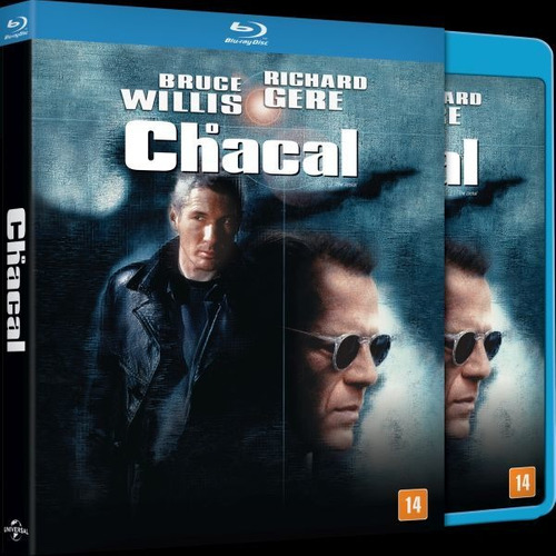 Blu-ray O Chacal (the Jackal) - Bruce Willis (luva)