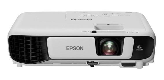 Projetor Epson Powerlite S41+ 3300 Lumens Svga, Vga, Hdmi