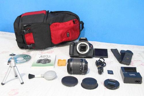 Canon T3i + Lente 18-55mm Stm + Sd Completa . A Vista 1590