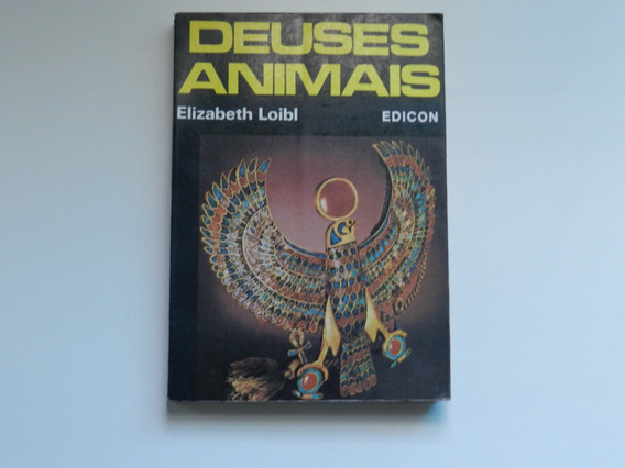 Livro Deuses Animais Elizabeth Loibl