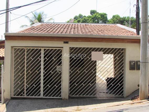 Casa Para Aluguel, 2 Quartos, 1 Vaga, Centro - Americana/sp - 10855