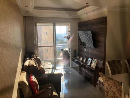Apartamento Em Vila Carmem, São Paulo/sp De 61m² 2 Quartos À Venda Por R$ 330.000,00 - Ap954262