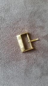 Fivela, Mido,en Ouro Plaque 17 X 18 Mm.vintage.pino 16.5 Mm
