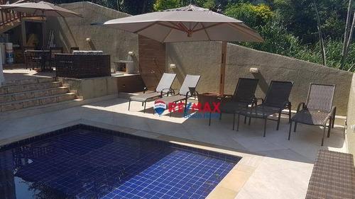Imagem 1 de 20 de Casa, 320 M² - Venda Por R$ 1.300.000,00 Ou Aluguel Por R$ 7.200,00/ano - Jardim Praiano - Guarujá/sp - Ca0344