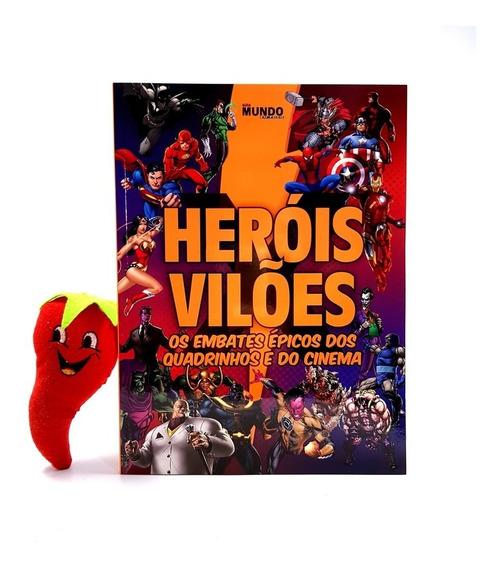 Revista Guia Heróis X Vilões Os Embate Épicos Dos Quadrinhos