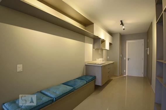 Studio No 13º Andar Com 1 Dormitório E 1 Garagem - Id: 892968081 - 268081