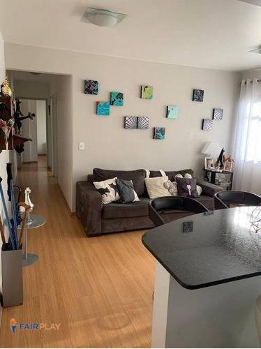 Apartamento 62m 2 Dormitorios 1 Vaga Na Vila Olimpia - Ap5970