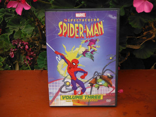 The Spectacular Spiderman - Volumen 3 - Dvd (01)