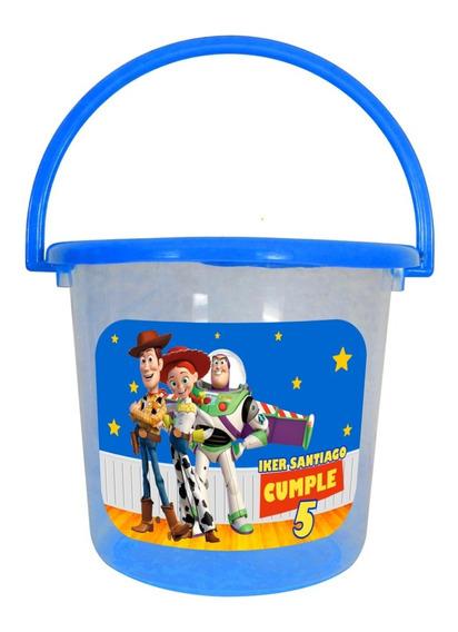 12 Cubetas Dulcero Toy Story Jessie Woody Buzz Personalizado