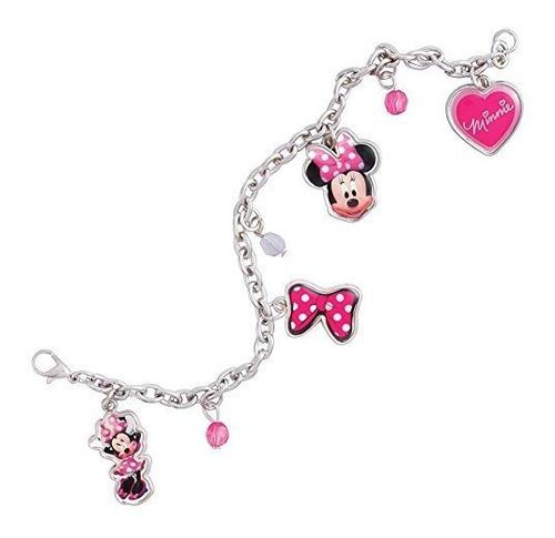 Chicas Minnie Mouse Charm Bracelet Girls Dress Up