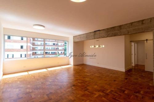 Apartamento Com 3 Dormitórios À Venda, 185 M² Por R$ 2.380.000,00 - Jardim Amélia - São Paulo/sp - Ap43715