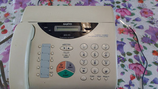 Telefone Fax Sanyo Sfx-111 Facsimile Transceiver - Leia