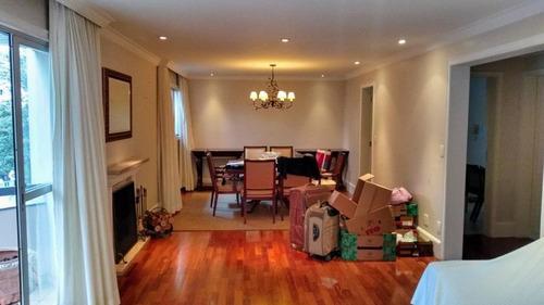 Ap0950 - Apartamento Com 3 Dormitórios À Venda, 196 M² Por R$ 3.300.000 - Itaim Bibi - São Paulo/sp - Ap0950