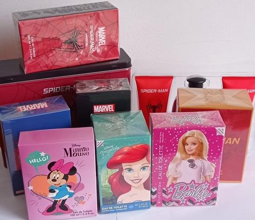 Perfume Colonia Niños Niñas Disney Marvel Minnie Mickey Iron