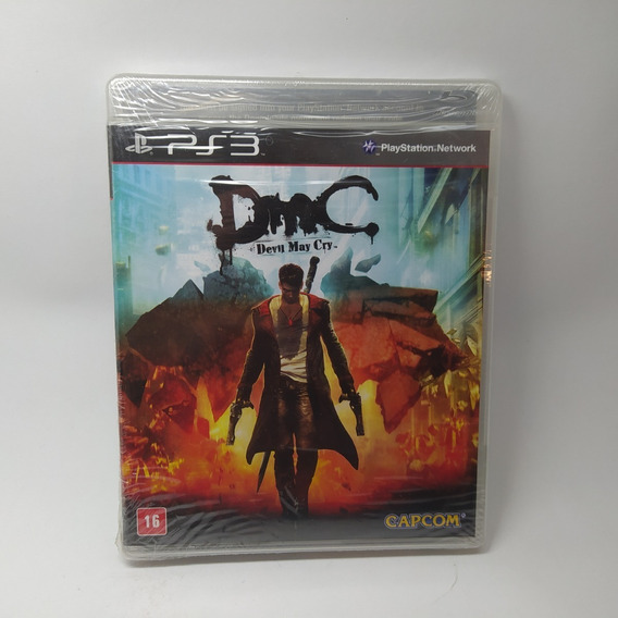 Devil My Cry Dmc Ps3 Mídia Física Lacrado Físico Original