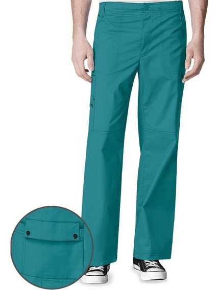 Pantalon Wonder Wink Color Teal Hombre Mod 5618t