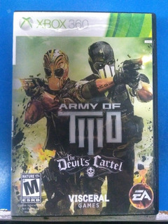 Amry Of Two The Devils Cartel Xbox 360 Lt3.0 Fisico