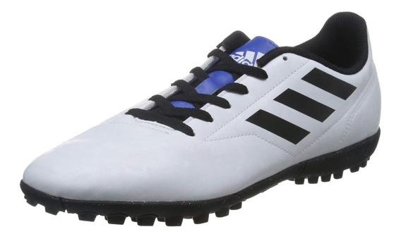 Tenis adidas Conquisto Futbol Rapido Multitaco Blanco