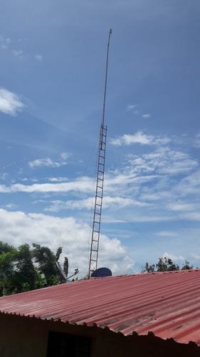 Imagen 1 de 6 de Torre Para Wifi, Radio, Entre Otra.