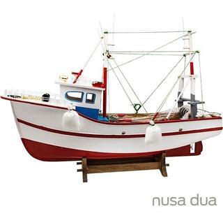 Barco Pesca Pesqueiro Pelicano - Madeira - Veleiro Traineira