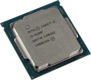 Procesador Intel Core i3-9100F BX80684I39100F 4 núcleos 64 GB