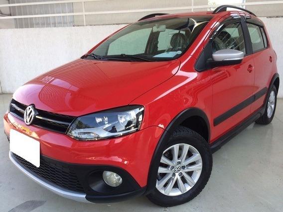 Volkswagen Crossfox 1.6 Vht Vermelho Flex 4p Manual 2014